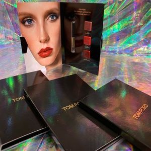 4x Tom Ford lipstick perfect accessory cards NWT